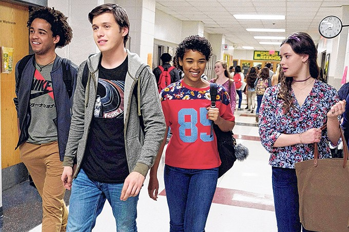 Love, Simon is a sweet throwback high school comedy.