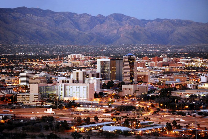 Downtown Tucson is on the rise.