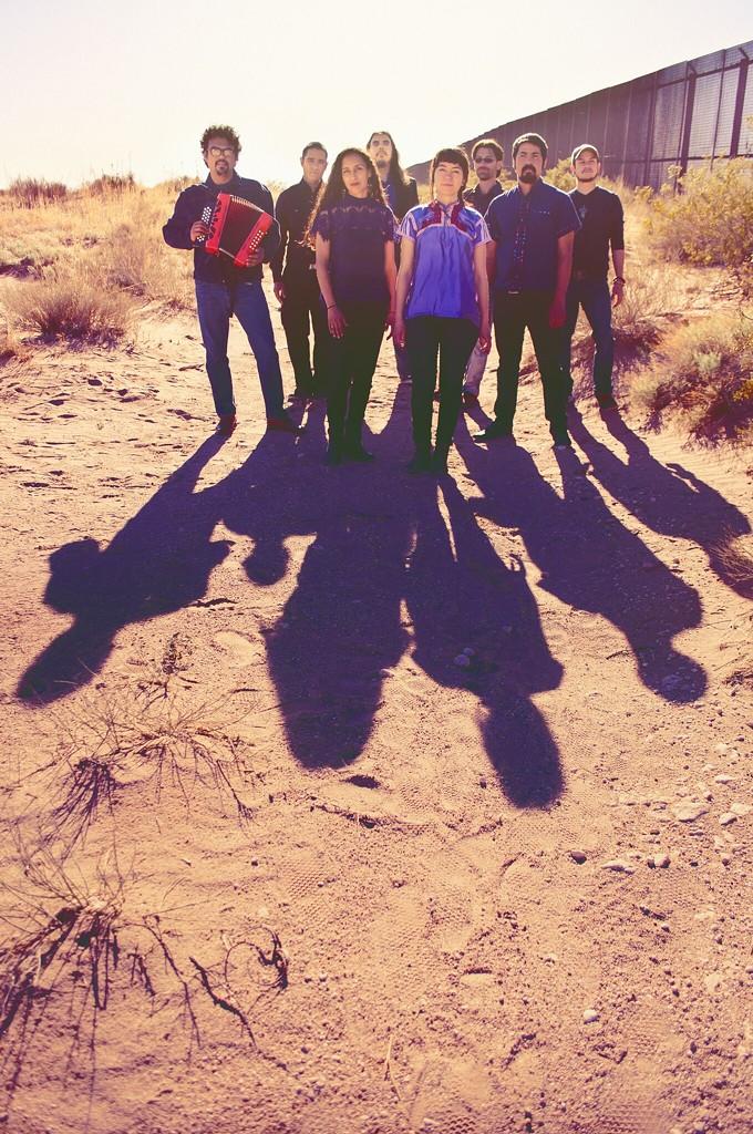 Cumbia band Frontera Bugalu