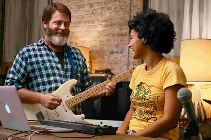 Dad Rock: Nick Offerman and Kiersey Clemons find harmony in Hearts Beat Loud