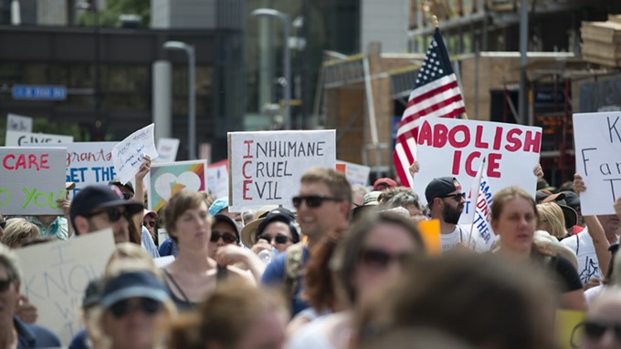Abolish ICE march