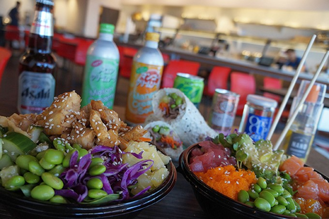 Hoki Poki offers a variety of fresh fish fast casual dishes.