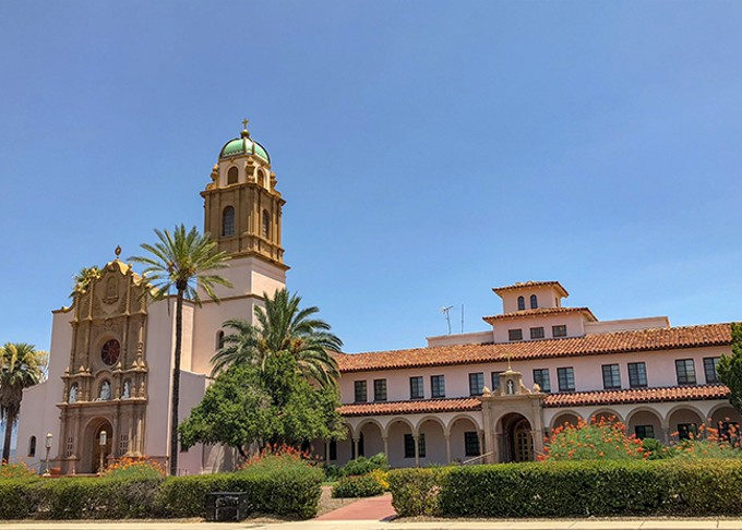 The Benedictine Monastery is one of Tucson's most prominent historical structures, designed by architect Roy Place and built in the 1930s.