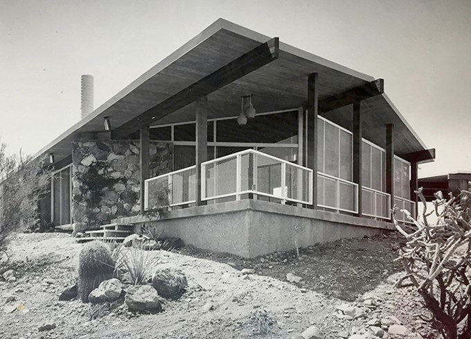 SpacePlanner III House by William Wilde and Sylvia Wilde.