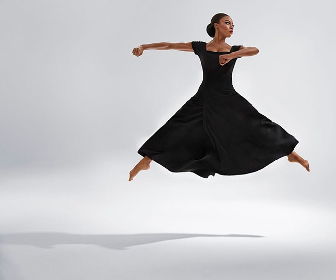 Leslie Andrea Williams, dancer in Martha Graham Dance Company.