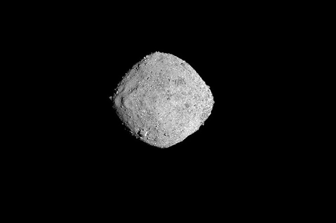 The first high quality picture of Bennu, taken from 85 miles away