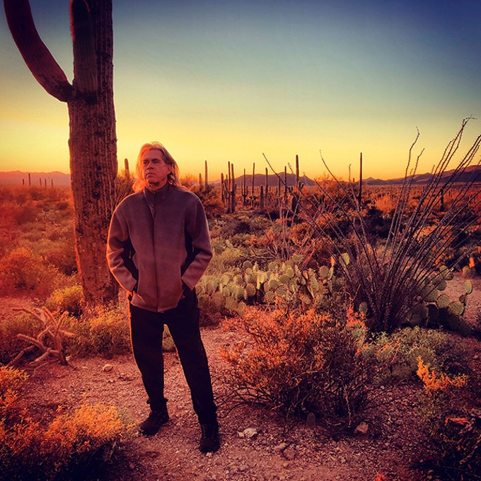 "Steve Roach: ""I have a large range of worlds I make music in."""