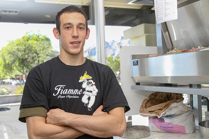 Scott Volpe, owner of Fiamme Pizza