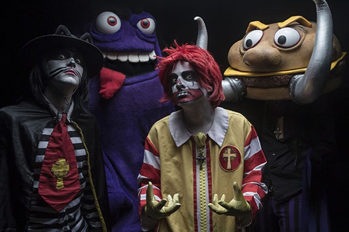 Prepare for a Happy Meal from Hell when Mac Sabbath rolls into town.