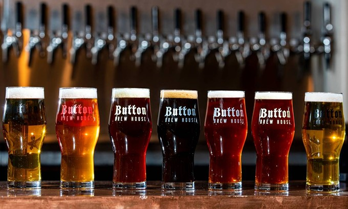 Button Brew House Beers, Randy Metcalf
