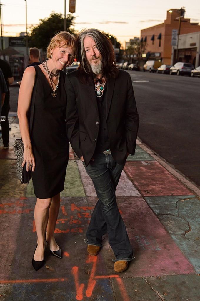 Co-creators Brian and Maggie Smith.