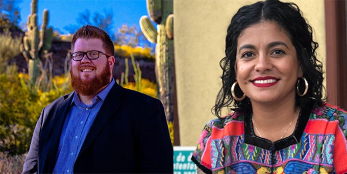 Democrat Lane Santa Cruz faces Republican Sam Nagy in next week's Tucson City Council election.