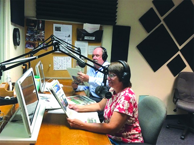 Sun Sounds volunteers take to the airwaves to read local news publications, stories and more for those who can't read.