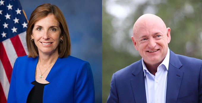 Mark Kelly is giving Martha McSally a hell of a race.