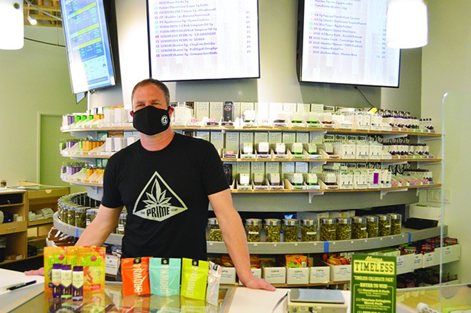 Prime Leaf CEO Brian Warde wants to provide Tucsonans with prime leaf, but also wants to change the conversation about cannabis.