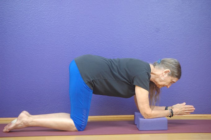 Martha Bergner leads this gentle class designed to strengthen back muscles.