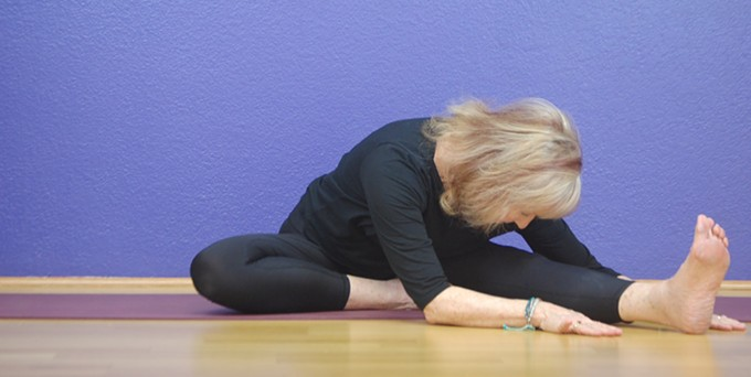 Libba Westin and other teachers lead beginners and yoga practitioners through this ongoing yoga class.