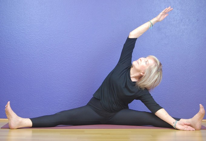 Libba Westin and other teachers lead beginners and experienced yoga practitioners through this ongoing yoga class.