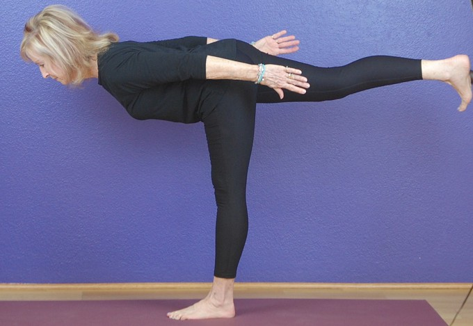 This yoga class offers ongoing practice for experienced practitioners.