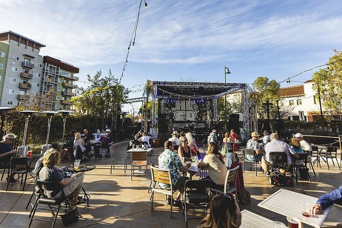 Hotel Congress' plaza is back in action and hosting live music and events six nights a week.
