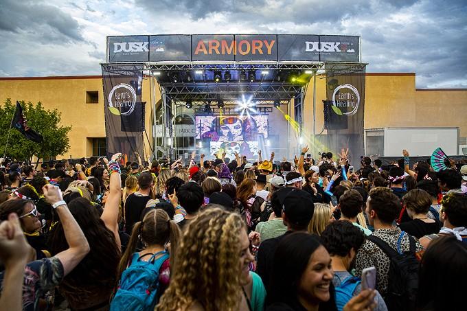 Dusk Music Festival 2019 @ Armory Park.