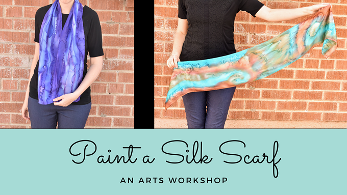 Paint a Fall Scarf!