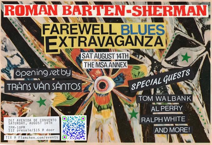 Roman Barten-Sherman's Farewell Blues Extravaganza