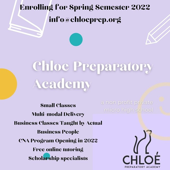 Why Chloe Prep?