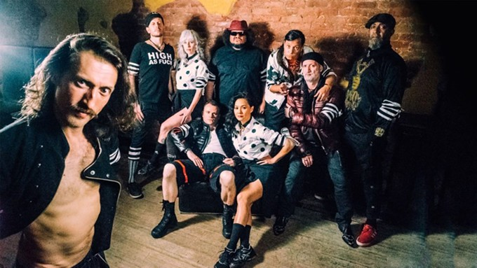 Gogol Bordello brings their signature blend of punk to the Rialto on Saturday, Sept. 4 with NuFolk Rebel Alliance.