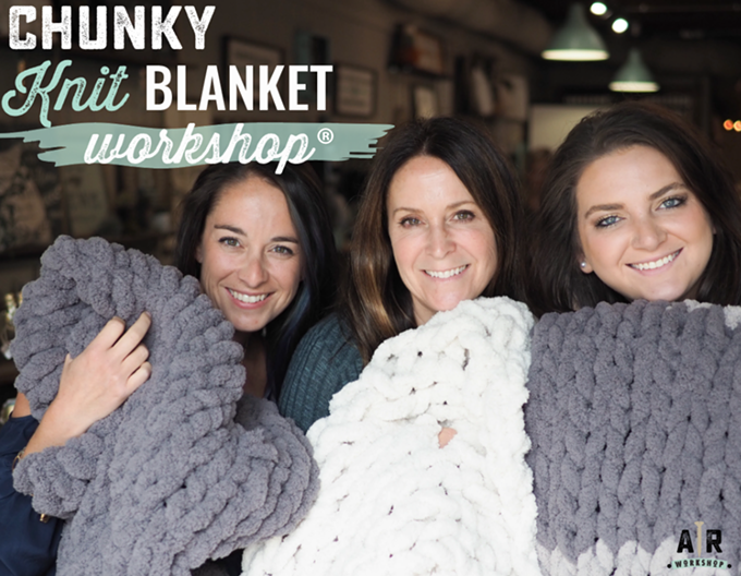 Create your own cuddly blanket!