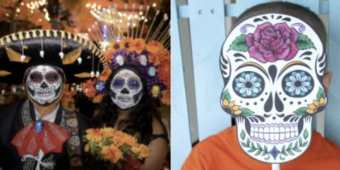 Face painting and decorating paper masks will be part of October's Family Adventure Fourth Saturday at the Presidio Museum