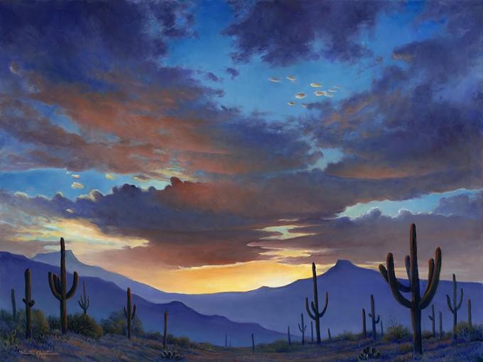 Sonoran Sunrise by Wanita Christensen