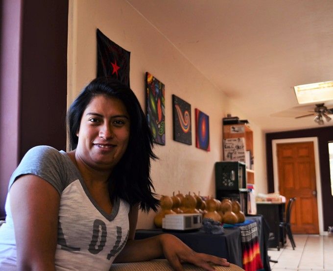 Nicoll Hernández-Polanco is relieved to have gotten asylum, but knows there are new challenges to face.