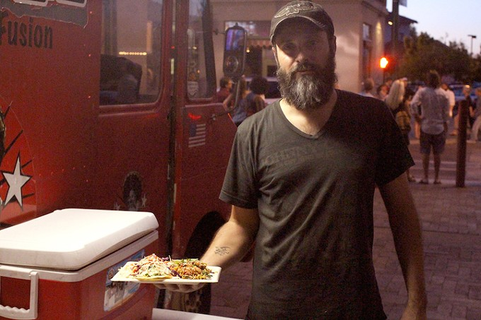 Fernando Sanchez combined his Mexican roots with his love of Asian cuisine for his Bam Bam truck.