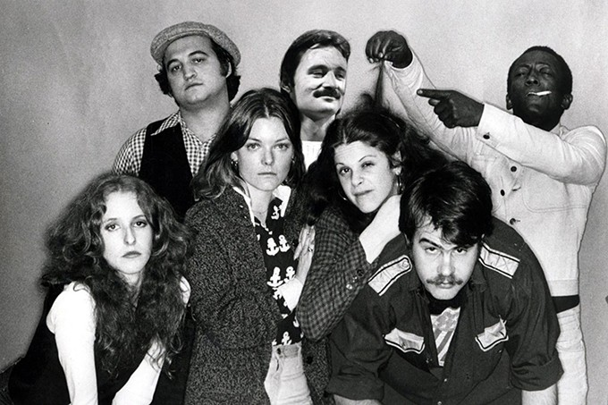 The original Cast of Saturday Night Live.