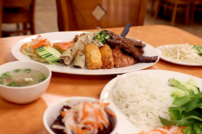 Com Tam Thuan Kieu invites you to step outside your pho bubble with a full menu of excellent options.