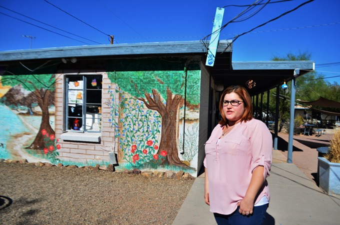 """""""How are you going to build up your self-esteem, and your self-worth?"""" says Heather McNeeley, a recent graduate of Pima County's drug treatment alternative to prison program."""
