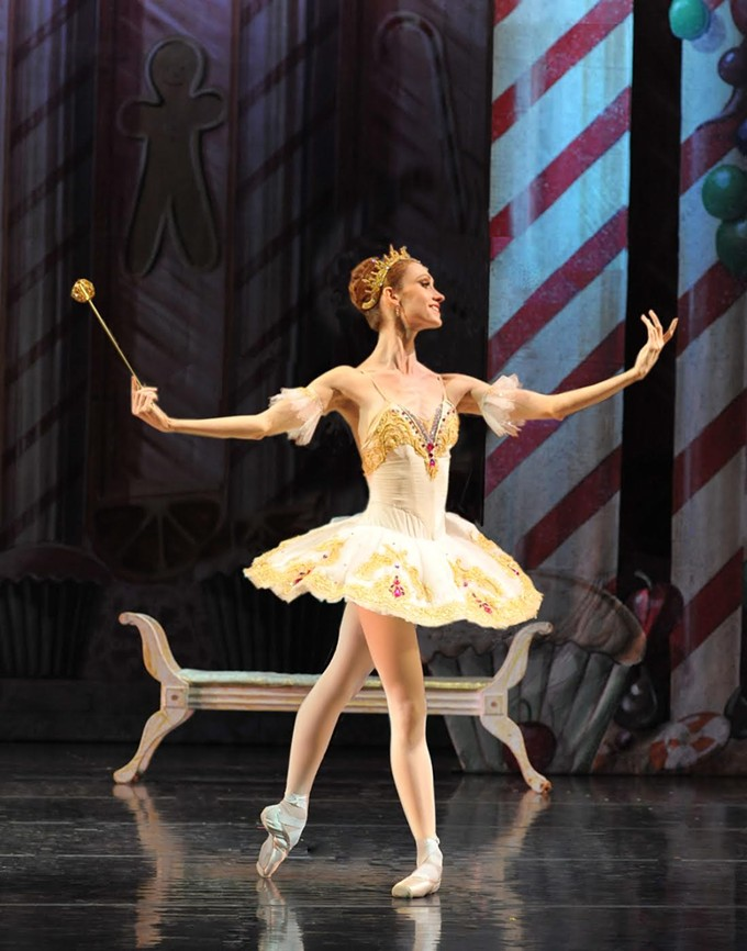 Prima ballerina Jenna Johnson dances the Sugar Plum Fairy in Ballet Tucson's traditional Nutcracker.