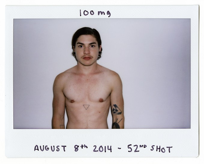 """August 8, 2014—52nd Shot,"" by Wynne Neilly, photo in Fuji Instax Film"