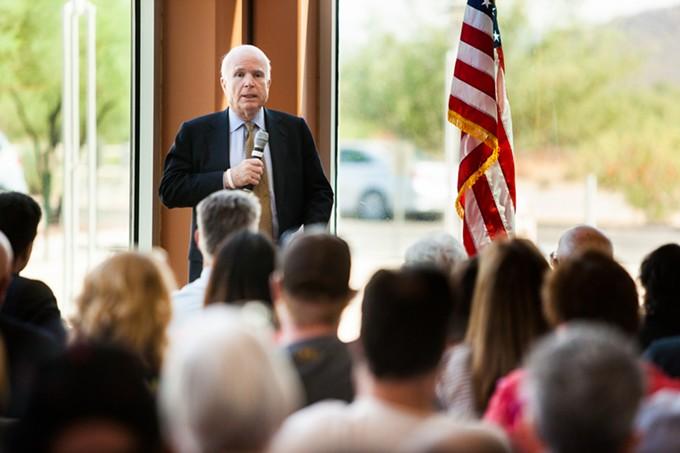 John McCain: No Supreme Court pick for you, Obama!