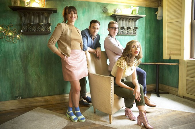 While creating a perfect take in the studio is fun, Lake Street Dive prefers performing live.