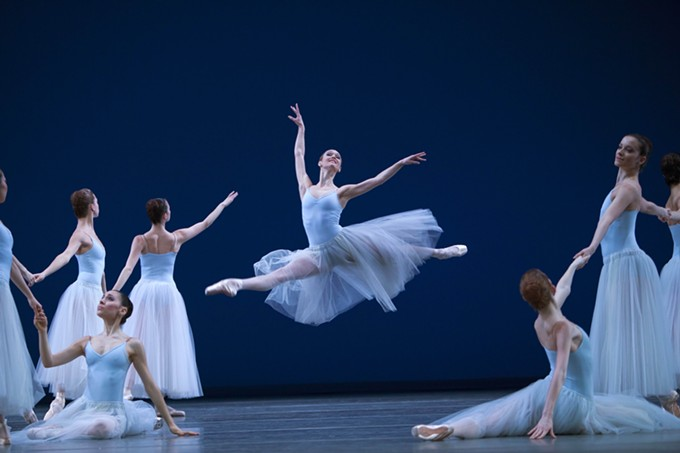 "Ballet Tucson performs Balanchine masterpiece ""Serenade"" this weekend."