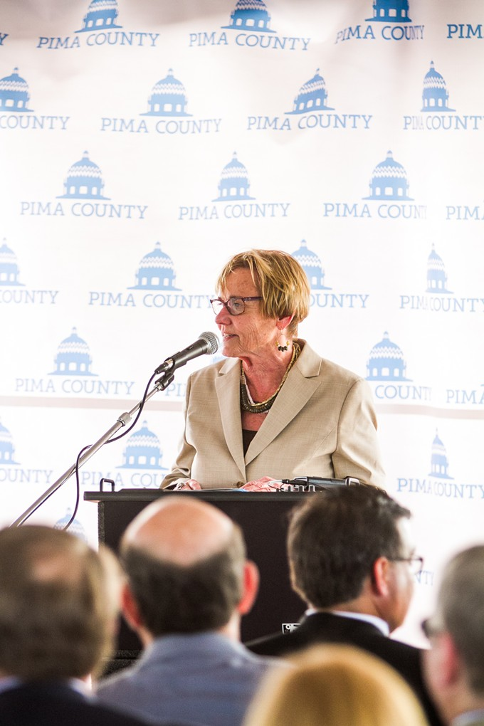 Pima County Supervisor Sharon Bronson