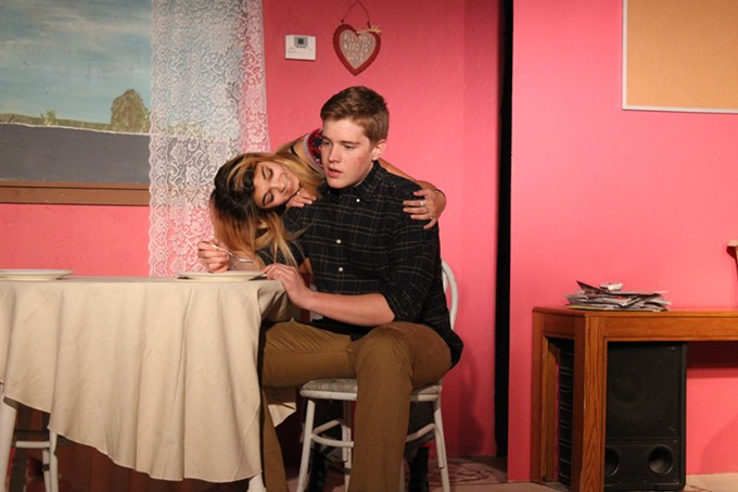 Savannah Runge and Vaughn Sherman in Acting Innocent's Really Really.