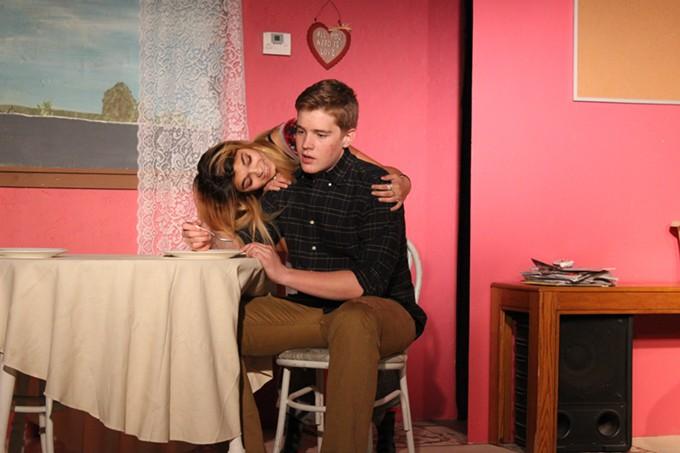 Savannah Runge and Vaughn Sherman in Acting Innocent's Really Really.