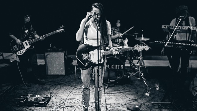 PIPELiGHTS lists influences as Warpaint, Florence Welch and Karen O.