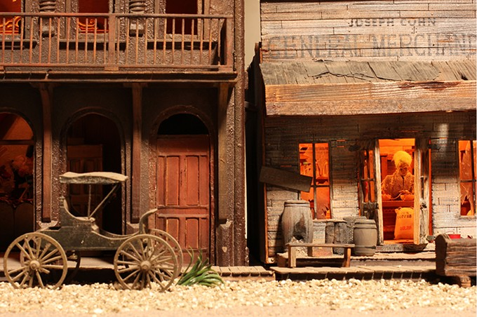 See Ghost Town at the Mini Time Machine Museum of Miniatures.