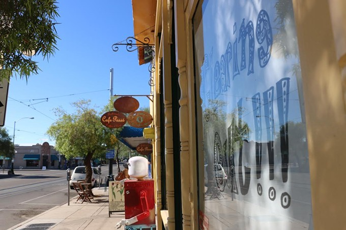 Café Passé and How Sweet It Was, both local businesses, have seen much change in the past 10 years. The vintage retailer has moved, and Passé is under new ownership.