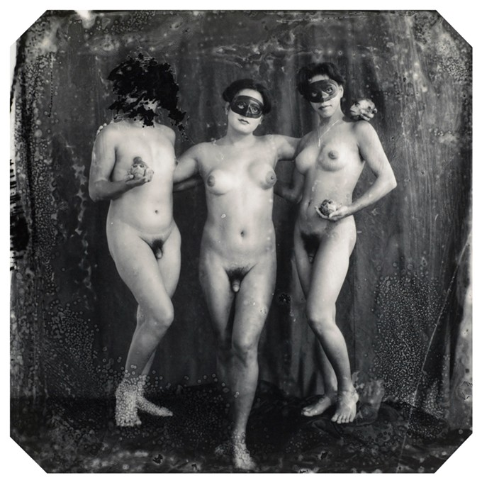 "Joel-Peter Witkin, ""The Graces, Los Angeles."""