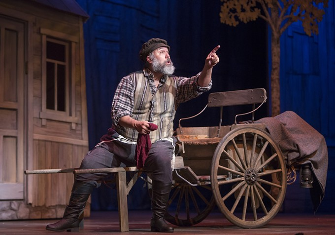 Eric Polani Jensen in Arizona Theatre Company's Fiddler on the Roof.